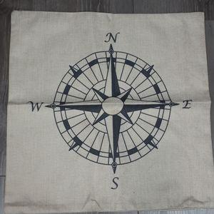 Compass Cushion Cover